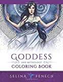 Goddess and Mythology Coloring Book (Fantasy Coloring by Selina)
