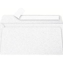 Clairefontaine 50035C Pack de 20 Enveloppes Pollen 110 x 220 mm Blanc Irisé