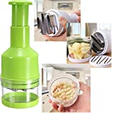 Amazing New Kitchen Gadgets Pressing Vegetable Onion Garlic Chopper Cutter Slicer Peeler Dicer Shredders Multifunctional Cooking Tools