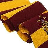 Vouge-Haus-Gryffindor-Cosplay-Stricken-Wollkostm-Schal-Verpackungs-rot-gelb