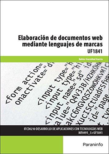Elaboración de documentos web mediante lenguajes de marca (Cp - Certificado Profesionalidad)