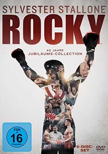 Rocky - The Complete Saga [6 DVDs] -
