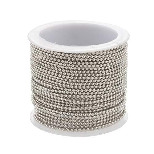 Godagoda Schmuckherstellung Zubehör DIY Perlen Ketten Verschluss Karabiner Basteln Werkzeug für Ohrsteck Armband Halsketten Anfänger 10m