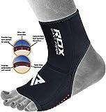 RDX Cavigliera Elastico per Caviglie Boxe Supporto Sport Fitness MMA Tutore Fascia Calze (Il Pacchetto Contiene Pezzo Unico)