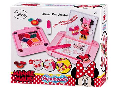 Aquabeads 79758 Minnie Maus Motivset Bastelset für Kinder