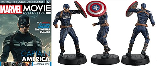 FIGURA DE RESINA MARVEL MOVIE COLLECTION Nº 17 CAPITÁN AMÉRICA STEALTH