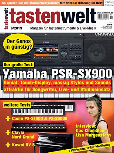 Yamaha PSR-SC900 im Test / Lisa Morgenstern Interview / In-Ear-Monitoring