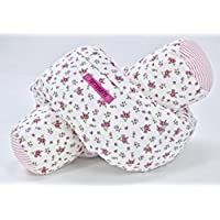 TUTTiFRUTTi Bettrolle Bettschlange Lagerungshilfe Baby, 155cm lang, Nestchen Babybett