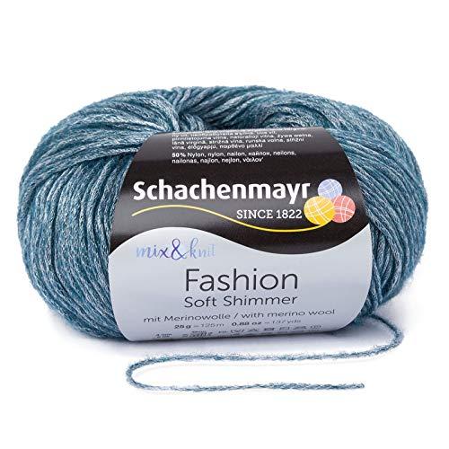 Schachenmayr Soft Shimmer 9807356-00050 Blue Diamond Handstrickgarn -