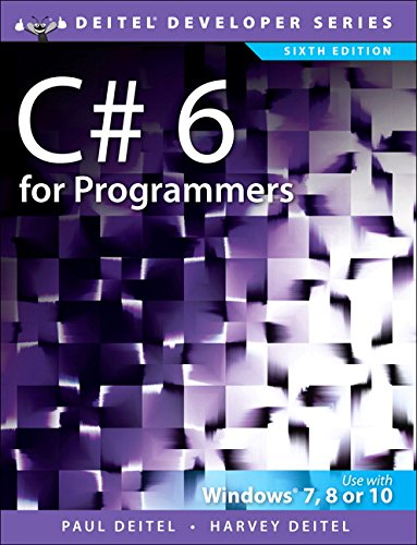 C# 6 for Programmers (Deitel Developer)