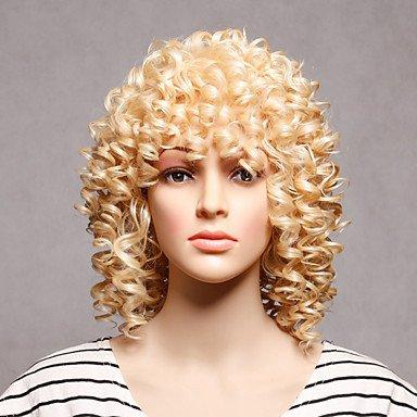 e Perücken blonden lockigen Stil hochwertige Perücken , blonde ()