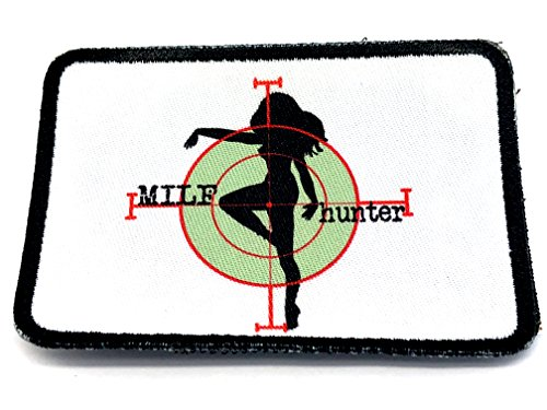 MILF HUNTER Cosplay Airsoft Sublimated Moral Patch