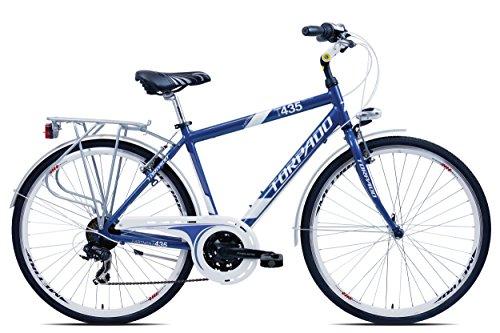 CITY SOCIOS TORPADO BICICLETA 28 ALU 3 X 7 V  TALLA 52  COLOR AZUL/BICYCLE (CITY) CITY SOCIOS 28 ALU 3 X 7 S SIZE 52 BLUE CITY ()