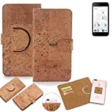 K-S-Trade 360° Cover cork Case for thomson Friendly TH101