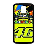 Custom Protective Phone Case for SamSung Galaxy S5, Valentino Rossi Brand 46?Classic?Wrangler Laster Technology Nice Quality Plastic and TPU Cover HPP3387