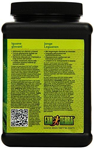 Exo Terra Soft Pellets Juvenile Iguana Food, 240 g 3
