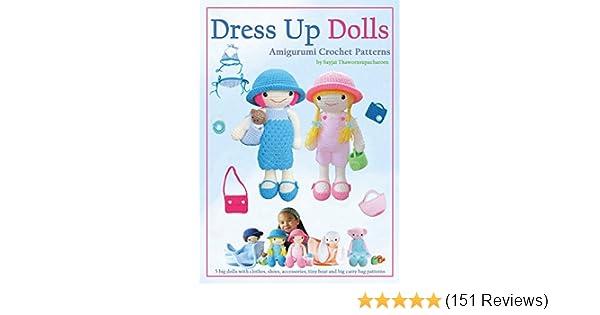 Honey Bunny Amigurumi Dress-Up Doll with Garden Play Mat (50 ... | 315x600