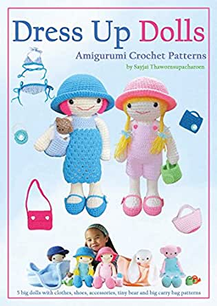 097 Crochet Pattern + Knitting (dress) - Mouse Sofia - Amigurumi ... | 445x315