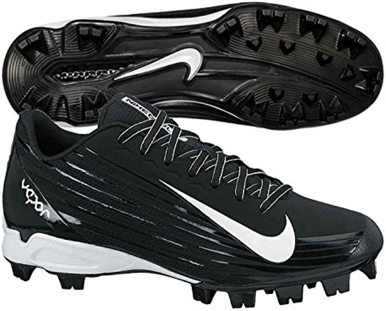 Nike Men'S Vapor Strike 2 Low Molded Baseball Cleat, Negro/Blanco, 42 D(M) EU/7.5 D(M) UK
