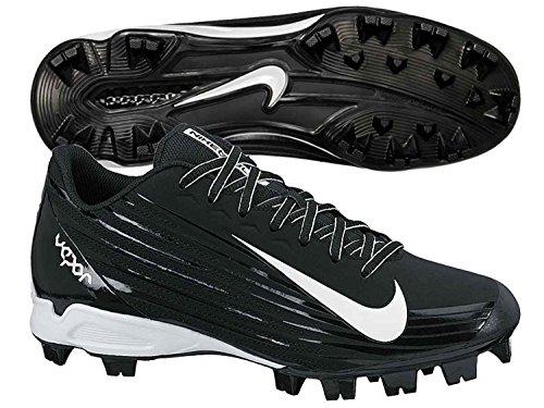 san francisco b5f43 f30b6 Nike Men s Vapor Strike 2 Low Molded Baseball Cleat, Negro Blanco, 45.5 D
