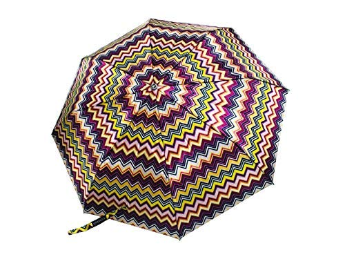 A Little Swag 3 Fold Printed Umbrella with Auto Open Close Button for Women