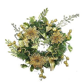 LYDB-Weihnachten-Kreative-Girlande-Haustr-Weihnachtsdekoration-Girlande-Dekoration-PVC-Material-Knstliche-Auendekoration-16-ZollYellow