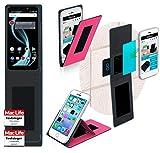 reboon Hülle für Allview X4 Soul Infinity Plus Tasche Cover Case Bumper | Pink | Testsieger