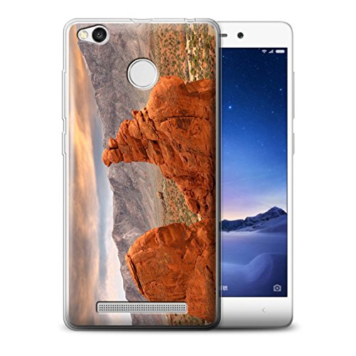 Canyon Collection (Stuff4®MR-Phone Case/Cover/Skin/redmi3x -gc/State of Nevada Collection Canyon Rouge Roche)