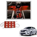 #10: TRUELINKS 9 LED Custom Cuttable Car Red Light for Interior/ Exterior For Maruti Suuki Alto k10