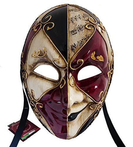Lanna Infantil Máscara Facial Máscara Veneciana Joker Hombre Carnaval Ball Máscara Multicolor 24cmx17cmx11cm