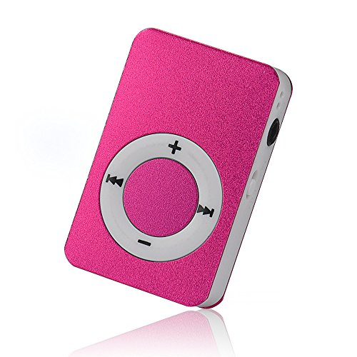 OSYARD MP3 Player,Musik Player,Tragbarer USB Digital Mini MP3-Player Unterstützt 32 GB Micro SD/TF-Karte,Aluminium Kartenleser Touch-Taste Verlustfreie Sound Musik Player 64mb Mp3-player