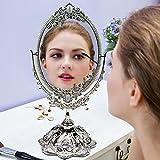 Doppelseitiger drehbarer Barock Kosmetikspiegel - 6