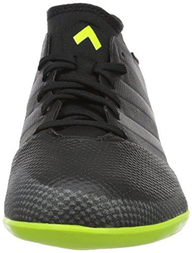 adidas Ace 16.3 Primemesh, Chaussures de Football Homme Noir (Core Black/core Black/solar Yellow)