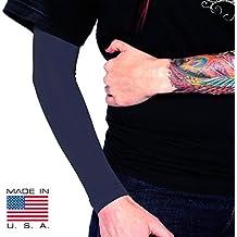 Tat2X Ink Armor Premium Full Arm Tattoo Cover Up Sleeve - Dark Navy - XSS - Made in USA by Tat2X