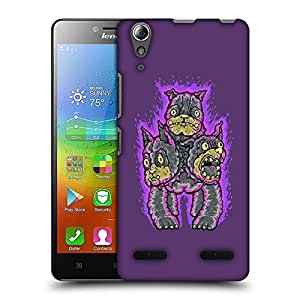 Snoogg Hi Sandwich Designer Protective Back Case Cover For LENOVO A6010