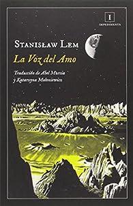 La Voz del Amo par Stanislaw Lem