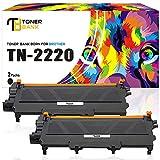 Toner Bank 2Pack Kompatibel TN-2220 für Brother MFC 7360N DCP-9022CDW HL 2135W HL2250DN DN HL-2250DN MFC 7460DN HL-2270DW MFC-7360NE HL2140 HL 2240D DCP-7070DW MFC7860DW DCP-7065DN MFC7360 MFC7460dn