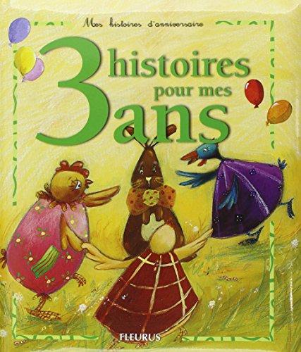 3 histoires pour mes 3 ans (1CD audio) par Sophie Maraval-Hutin