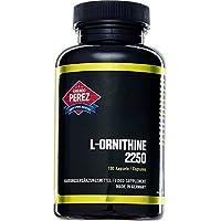 L-ornithine - 2250 mg par dose - 100 capsules - acides aminés anabolisants pour les athlètes de performance et -bodybuilder l'avenir
