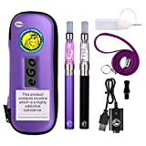 WOLFTEETH 2 Pack CE4 E Cigarette Travel Set | 1100 mAh Rechargeable Battery