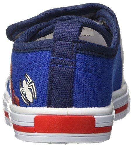 Spiderman Spp7705, Sneaker a Collo Basso Bambino Blu (Royal)