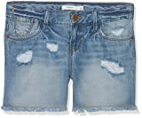 NAME IT Mädchen Nitbaran Reg Dnm Shorts Lmtd, Blau (Light Blue Denim), Gr. 152