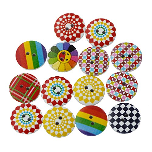 magideal-pack-of-100-round-shaped-painted-2-hole-wooden-sewing-buttons-for-craft-20mm