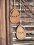 Osterei zum hängen in Edelrost, Osterdeko mit Pfiff