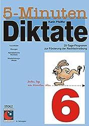5-Minuten-Diktate, neue Rechtschreibung, 6. Schuljahr