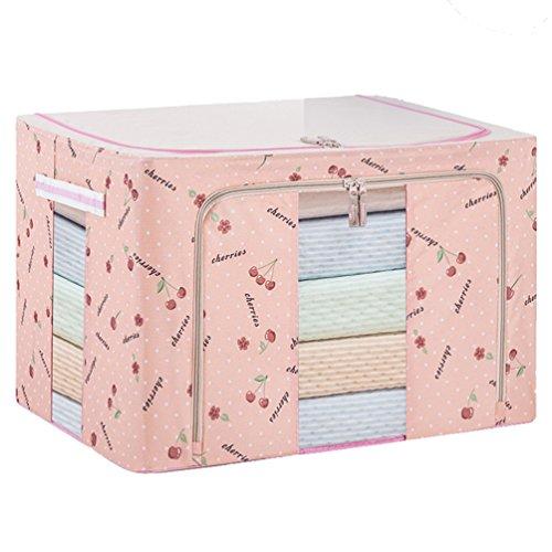Dexinx Koffer Organizer Taschen Reise Kleidertaschen Packing Cubes für Kleidung Tragbar Steppdecke Organizer Tasche Pink 66L