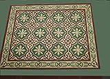 20 Zementfliesen Fliesenbild Küche Wand Deko Iraquia 1434