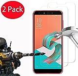 """FoneExpert® 2 Pack - Zenfone 5 Lite (6.0"""") Verre Trempé, Vitre Protection Film de Protecteur d'écran Glass Film Tempered Glass Screen Protector pour ASUS Zenfone 5Q ZC600KL/Zenfone 5 Lite (6.0"""")"""