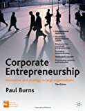 Corporate Entrepreneurship: Innovation and Strategy in Large Organizations by Burns, Professor Paul (2012) Paperback