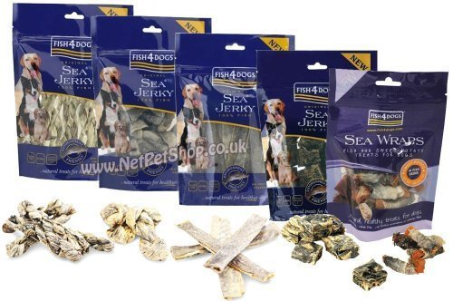 Fish4Dogs Dog Treats Multipack 500g